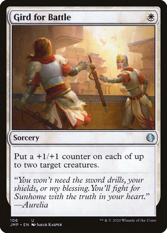 Carta Aprontar para Batalha/Gird for Battle de Magic the Gathering