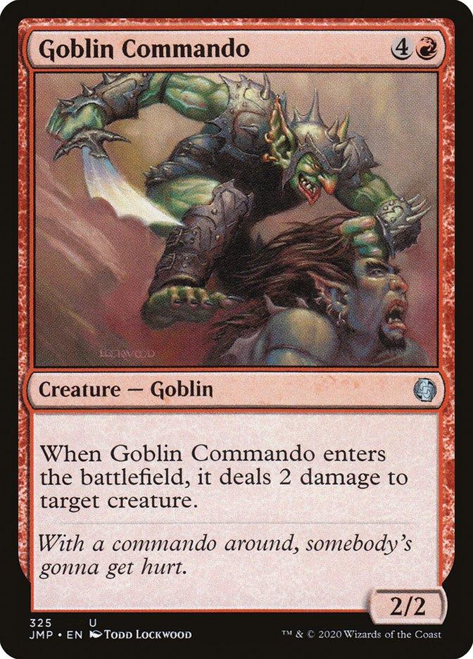 Carta Goblin Commando/Goblin Commando de Magic the Gathering