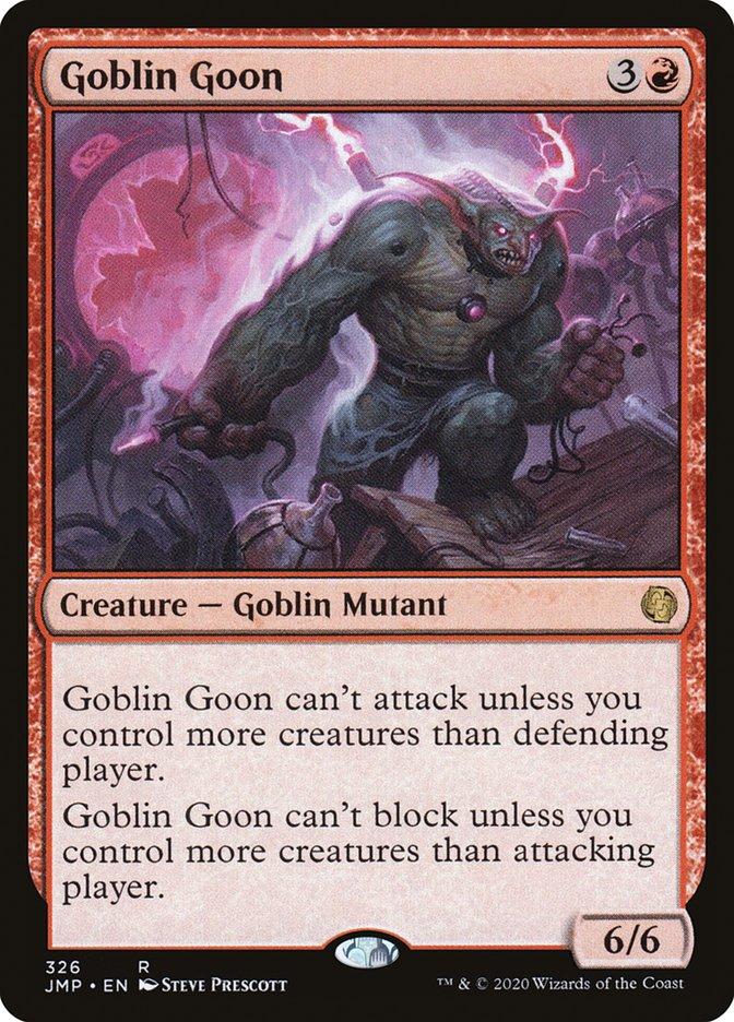 Carta Capanga Goblin/Goblin Goon de Magic the Gathering