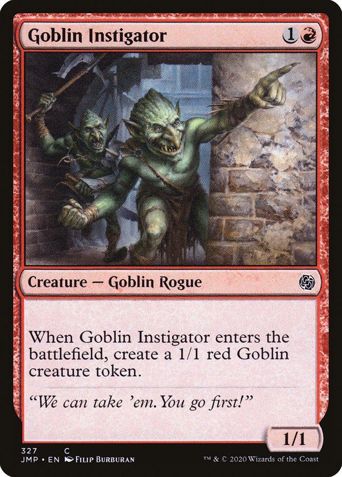 Carta Instigador Goblin/Goblin Instigator de Magic the Gathering