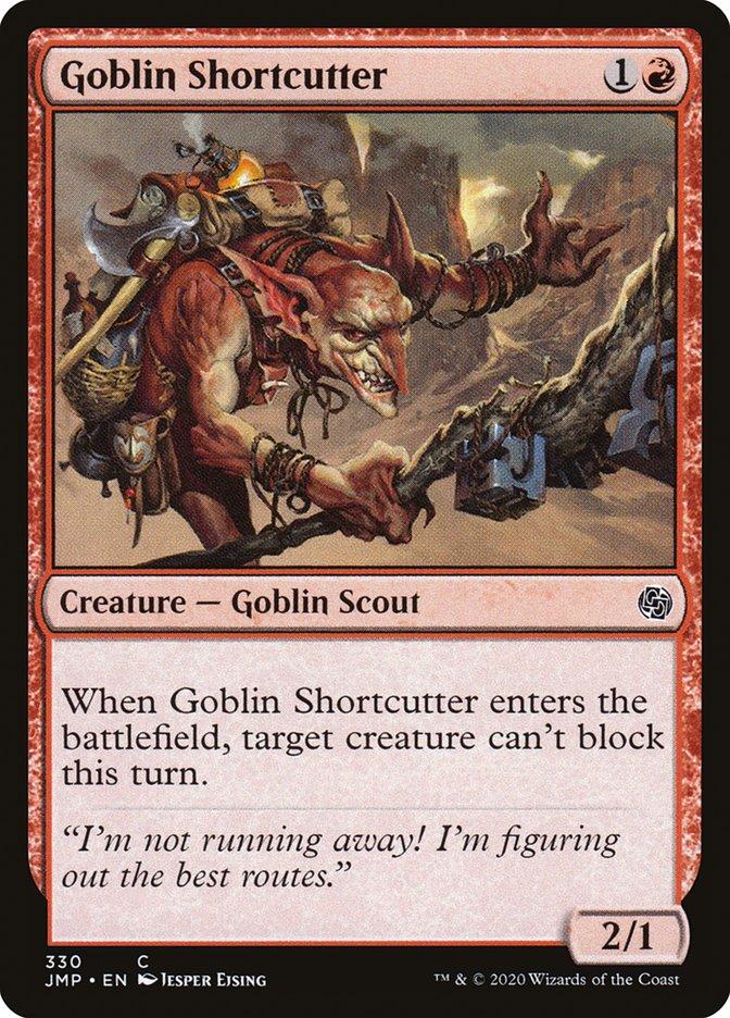 Carta Atalhadeiro Goblin/Goblin Shortcutter de Magic the Gathering