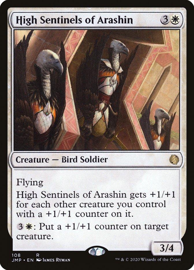 Carta Altas Sentinelas de Arashin/High Sentinels of Arashin de Magic the Gathering