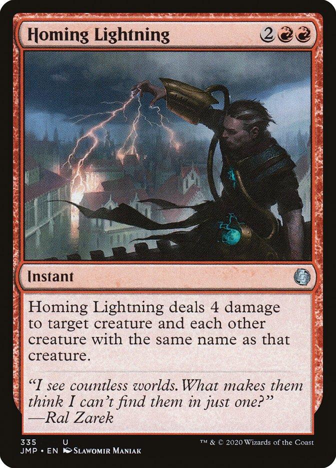 Carta Relâmpago Guiado/Homing Lightning de Magic the Gathering