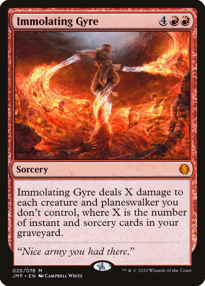 Carta Immolating Gyre/Immolating Gyre de Magic the Gathering
