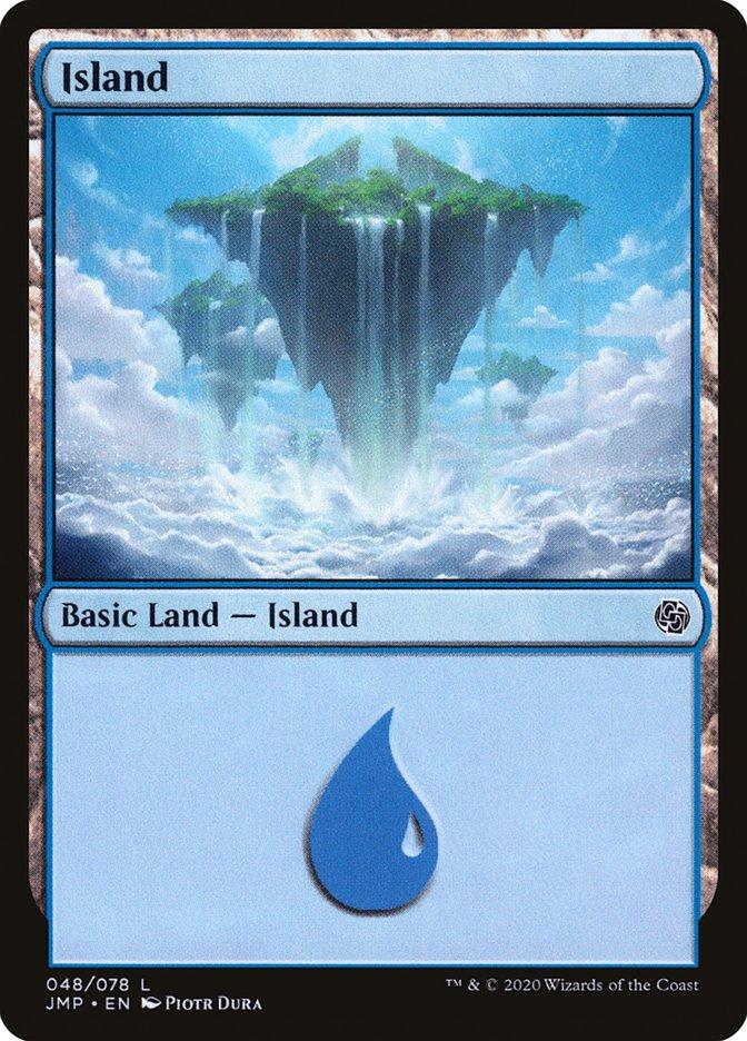 Carta Ilha/Island de Magic the Gathering