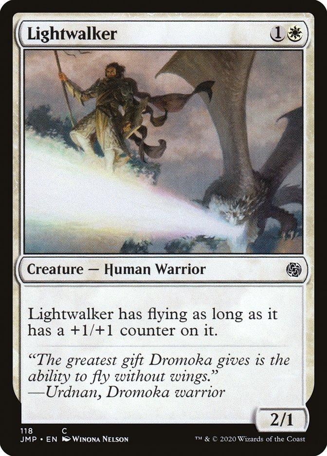 Carta Trilha-luz/Lightwalker de Magic the Gathering