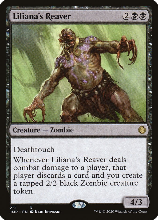 Carta Despojador de Liliana/Liliana's Reaver de Magic the Gathering