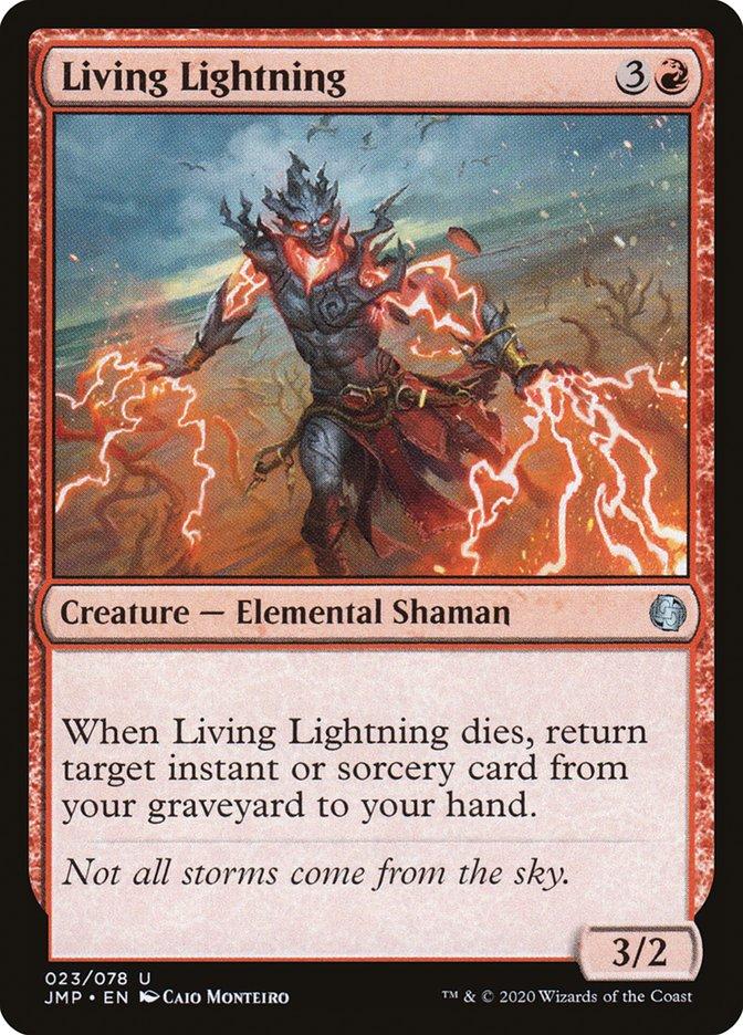 Carta Living Lightning/Living Lightning de Magic the Gathering