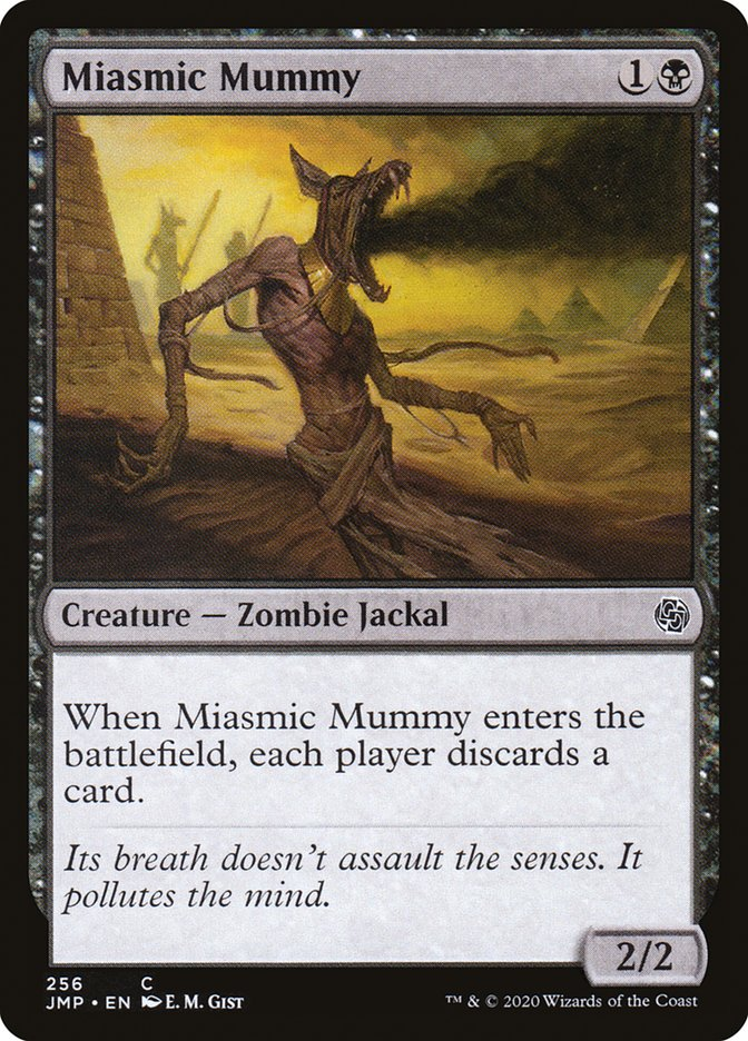 Carta Múmia Miasmática/Miasmic Mummy de Magic the Gathering
