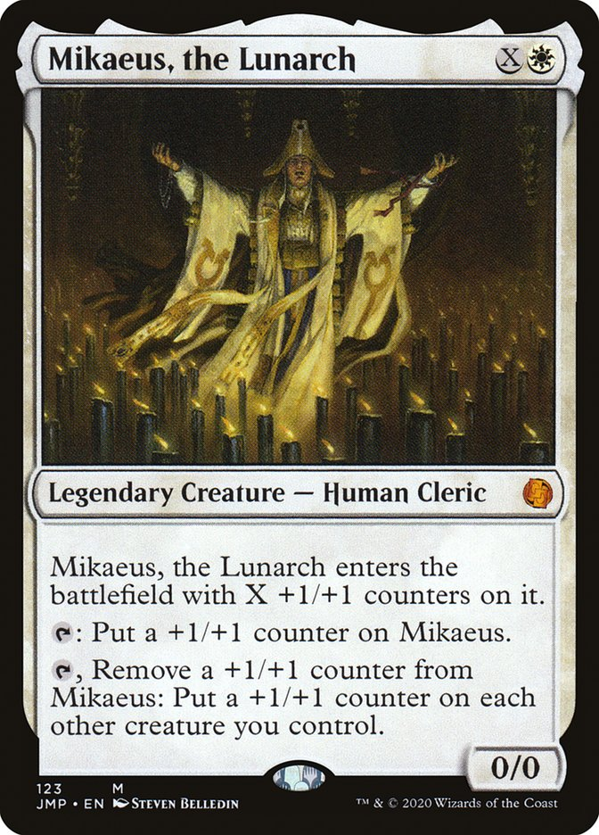 Carta Mikaeus, o Lunarca/Mikaeus, the Lunarch de Magic the Gathering