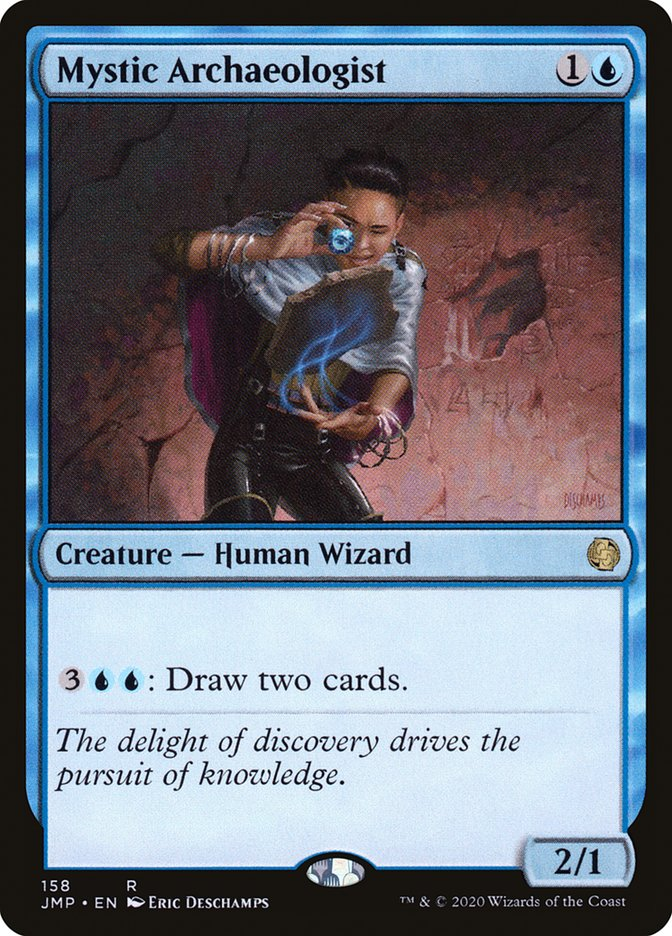 Carta Especialista em Arqueologia Espiritual/Mystic Archaeologist de Magic the Gathering