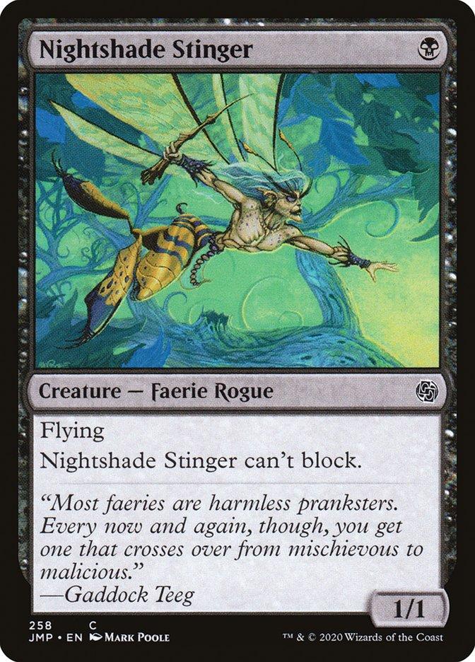 Carta Aguilhoador da Penumbra/Nightshade Stinger de Magic the Gathering