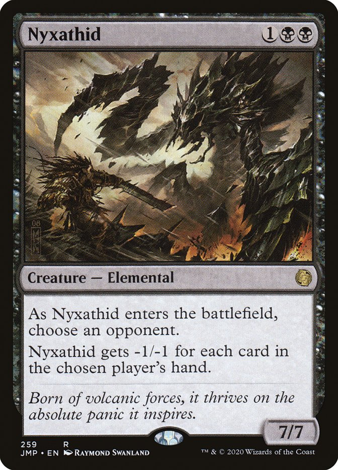 Carta Nixatide/Nyxathid de Magic the Gathering