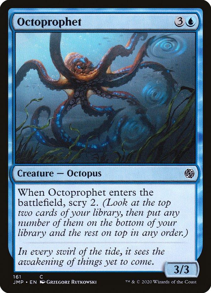 Carta Polvofeta/Octoprophet de Magic the Gathering