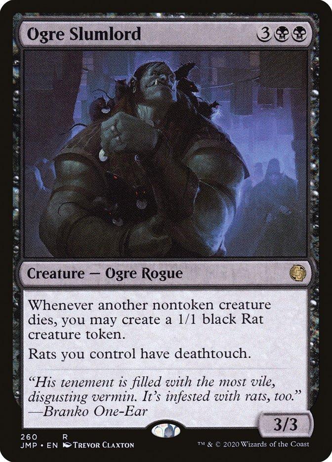 Carta Senhorio Ogro/Ogre Slumlord de Magic the Gathering