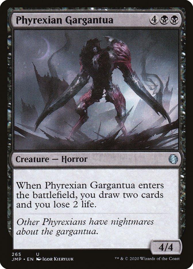 Carta Gargantua Phyrexiano/Phyrexian Gargantua de Magic the Gathering