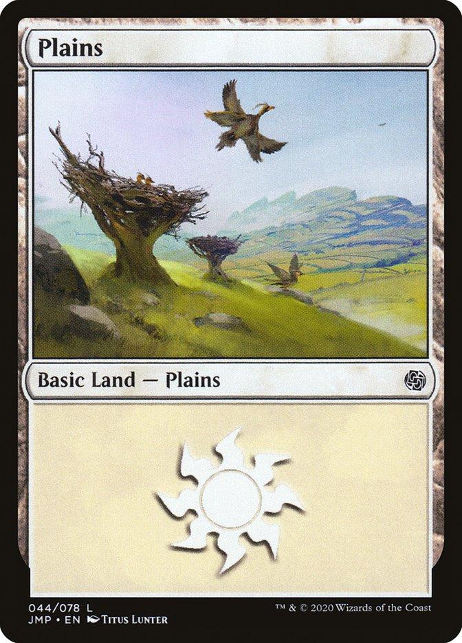 Carta Planície/Plains de Magic the Gathering