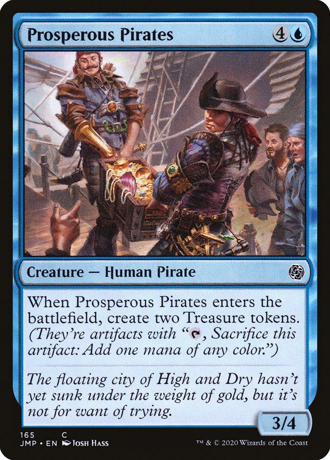 Carta Piratas Prósperos/Prosperous Pirates de Magic the Gathering