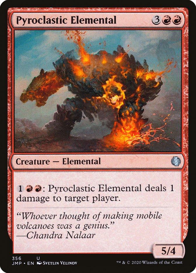 Carta Elemental Piroclástico/Pyroclastic Elemental de Magic the Gathering