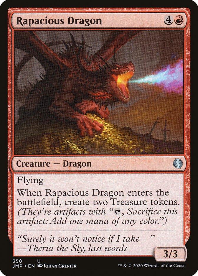 Carta Dragão Edaz/Rapacious Dragon de Magic the Gathering