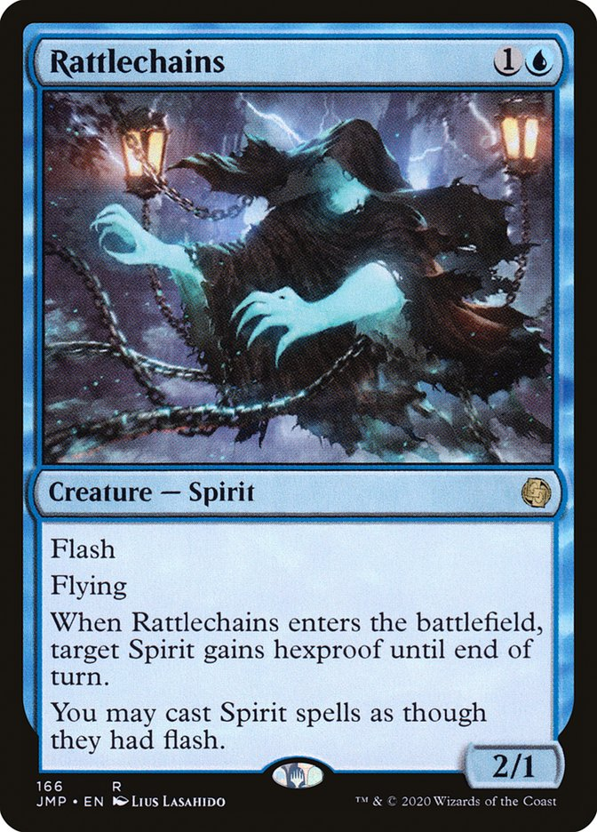 Carta Sacode-correntes/Rattlechains de Magic the Gathering
