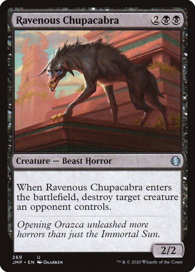 Carta Chupacabra Voraz/Ravenous Chupacabra de Magic the Gathering