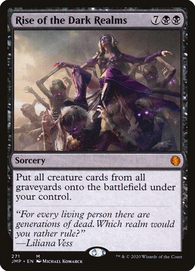 Carta Ascensão dos Reinos Sombrios/Rise of the Dark Realms de Magic the Gathering