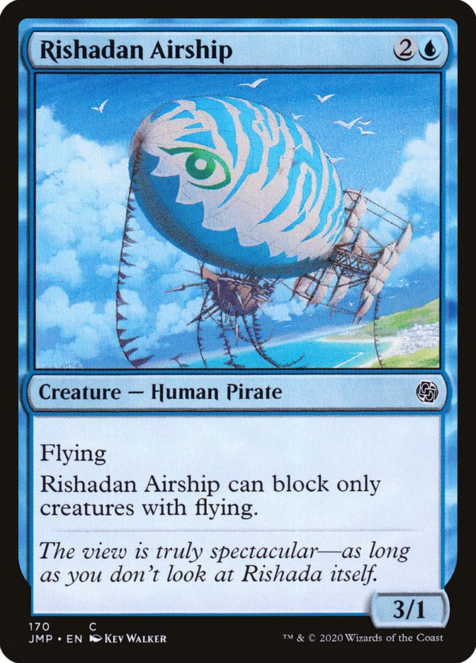Carta Dirigível de Rishada/Rishadan Airship de Magic the Gathering