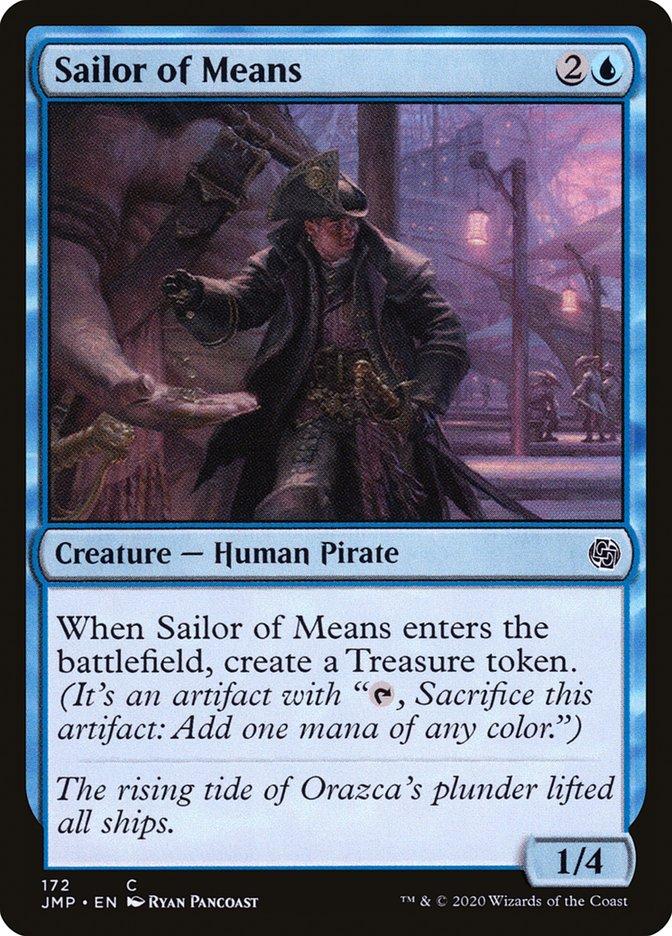 Carta Marinheiro de Posses/Sailor of Means de Magic the Gathering