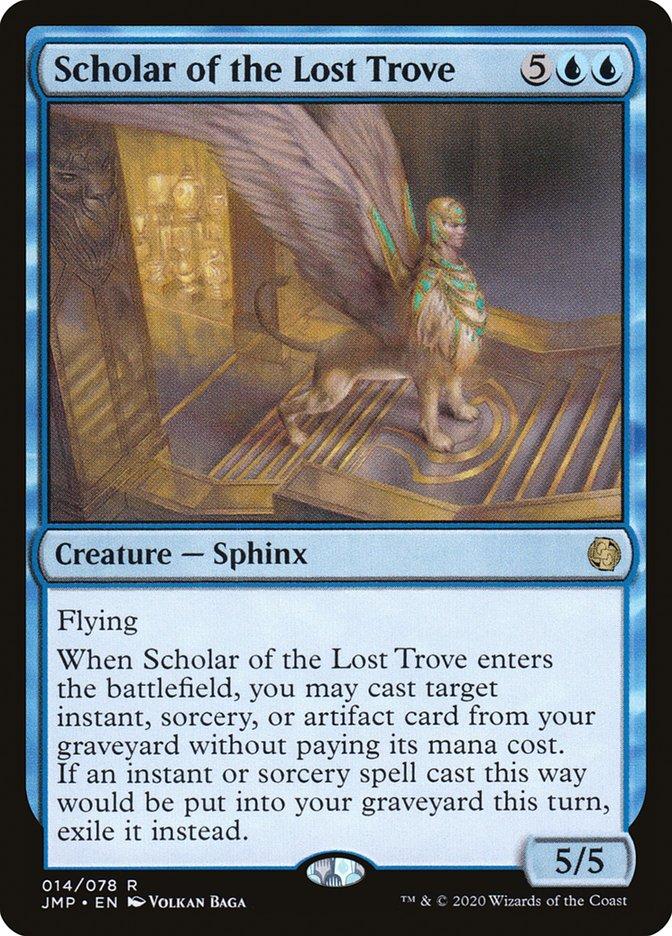 Carta Scholar of the Lost Trove/Scholar of the Lost Trove de Magic the Gathering