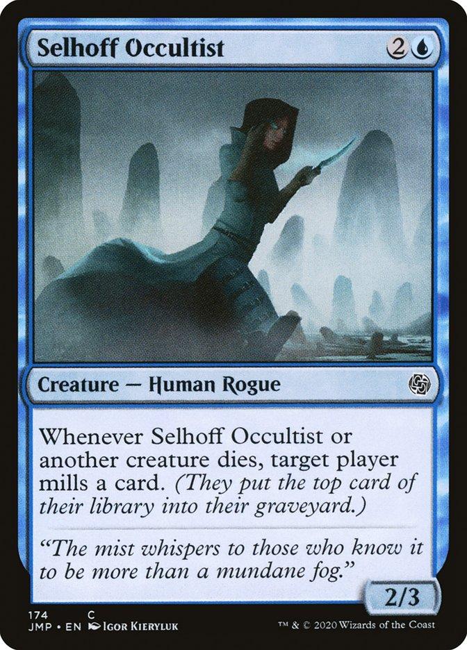 Carta Ocultista de Selhoff/Selhoff Occultist de Magic the Gathering