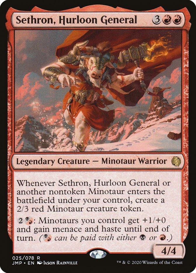 Carta Sethron, Hurloon General/Sethron, Hurloon General de Magic the Gathering