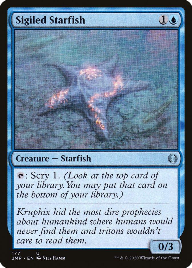Carta Estrela-do-mar Rúnica/Sigiled Starfish de Magic the Gathering