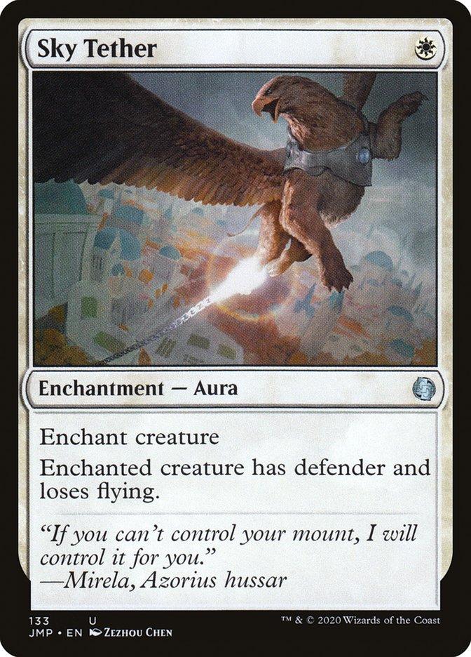 Carta Corrente Celeste/Sky Tether de Magic the Gathering