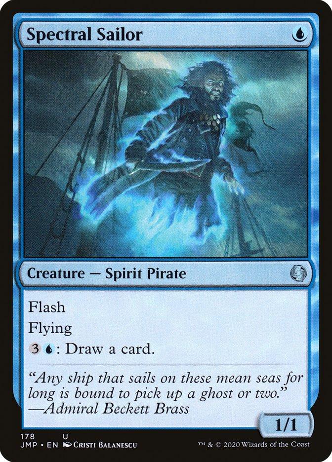 Carta Marinheiro Espectral/Spectral Sailor de Magic the Gathering