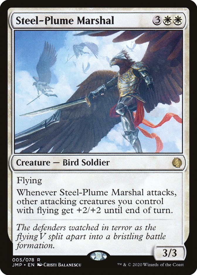 Carta Steel-Plume Marshal/Steel-Plume Marshal de Magic the Gathering