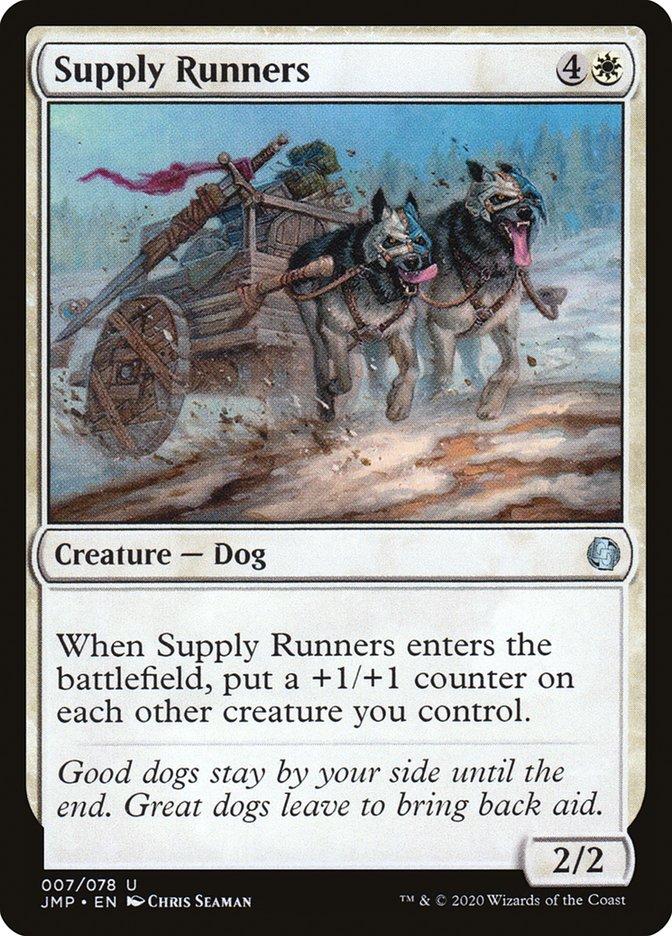 Carta Supply Runners/Supply Runners de Magic the Gathering