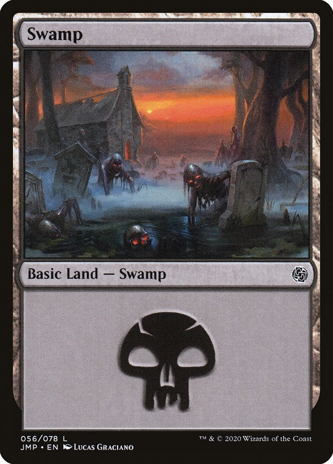 Carta Pântano/Swamp de Magic the Gathering