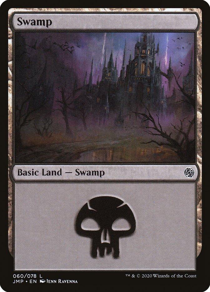 Carta Pântano/Swamp de Magic the Gathering