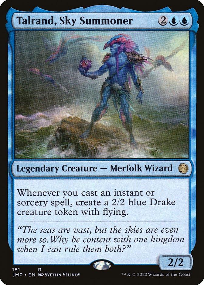Carta Talrand, Invocador Celeste/Talrand, Sky Summoner de Magic the Gathering