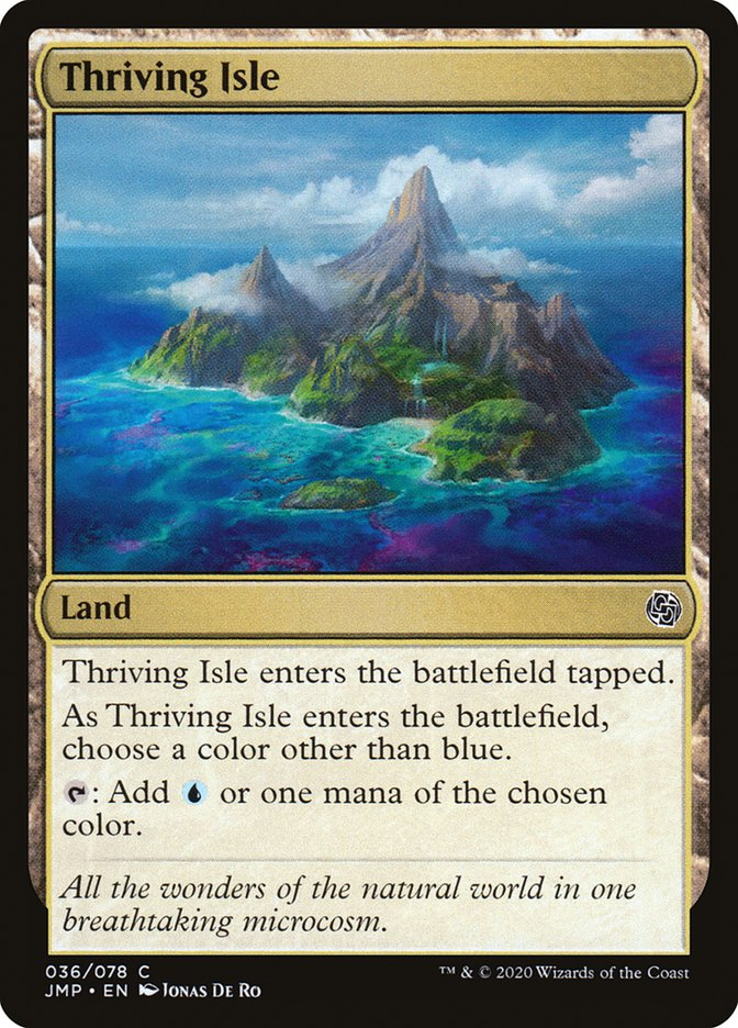 Carta Thriving Isle/Thriving Isle de Magic the Gathering