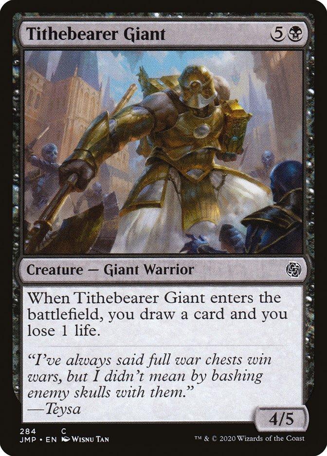 Carta Gigante Porta-dízimos/Tithebearer Giant de Magic the Gathering