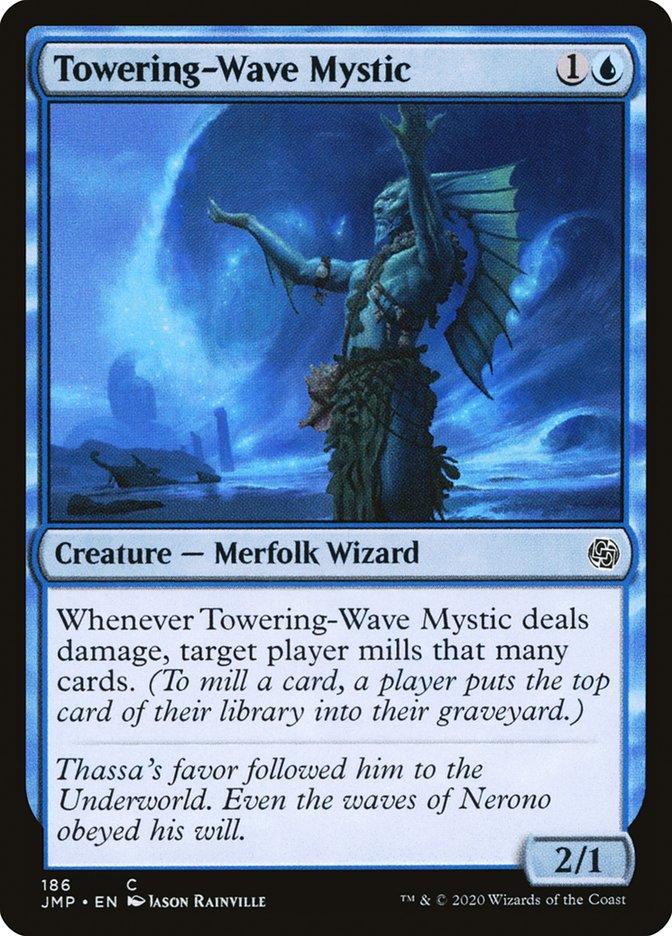 Carta Místico das Ondas Gigantes/Towering-Wave Mystic de Magic the Gathering