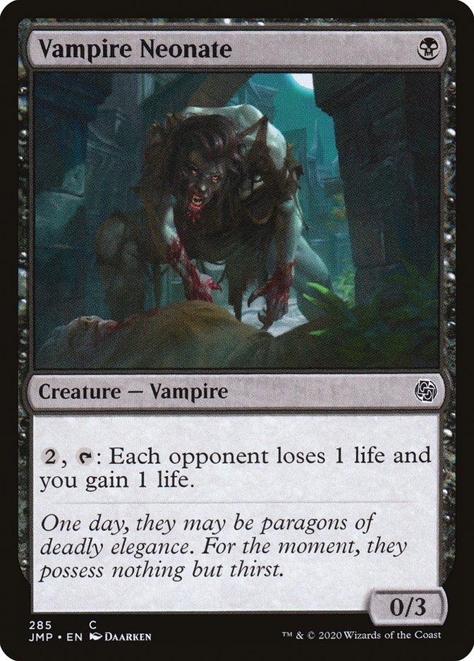 Carta Neófito Vampiro/Vampire Neonate de Magic the Gathering