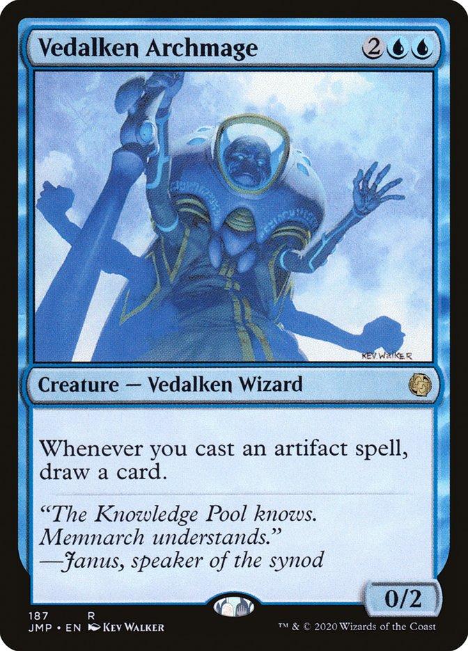 Carta Arquimago Vedalkeano/Vedalken Archmage de Magic the Gathering