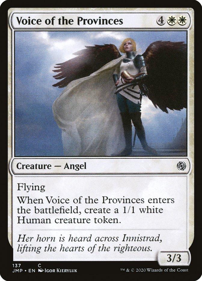 Carta Voz das Províncias/Voice of the Provinces de Magic the Gathering