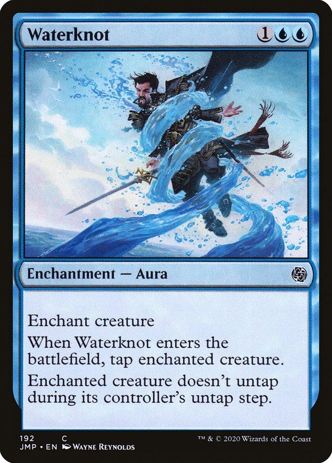 Carta Nó D'água/Waterknot de Magic the Gathering