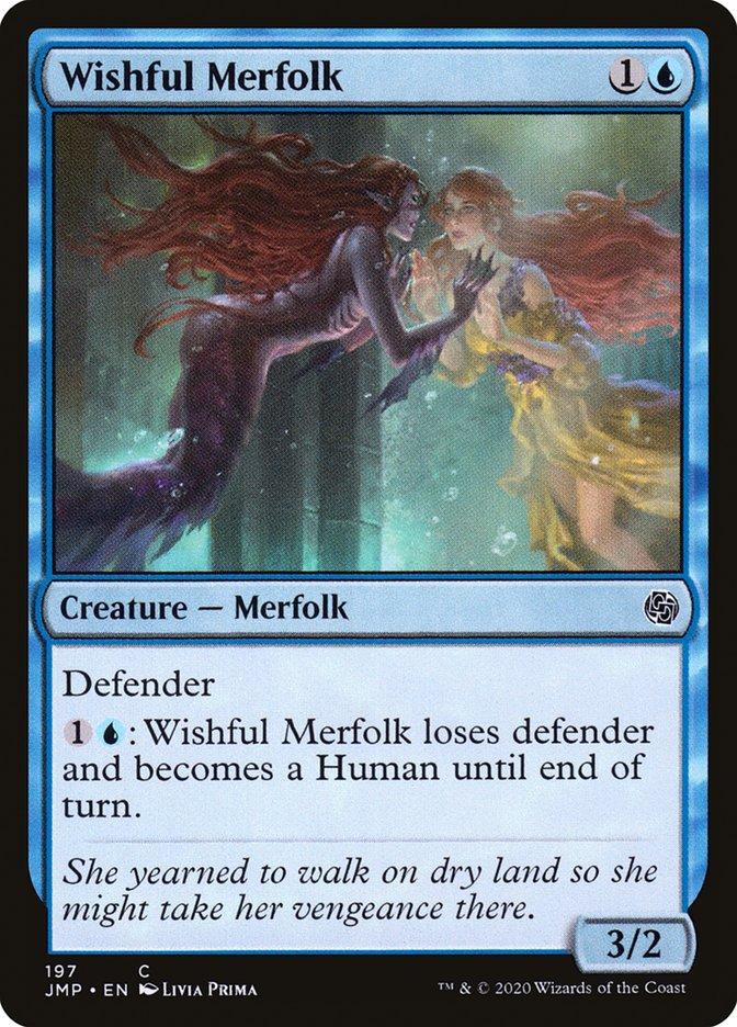 Carta Tritã Desejosa/Wishful Merfolk de Magic the Gathering