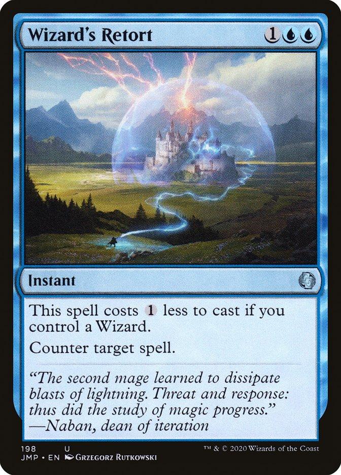 Carta Contradita do Mago/Wizard's Retort de Magic the Gathering