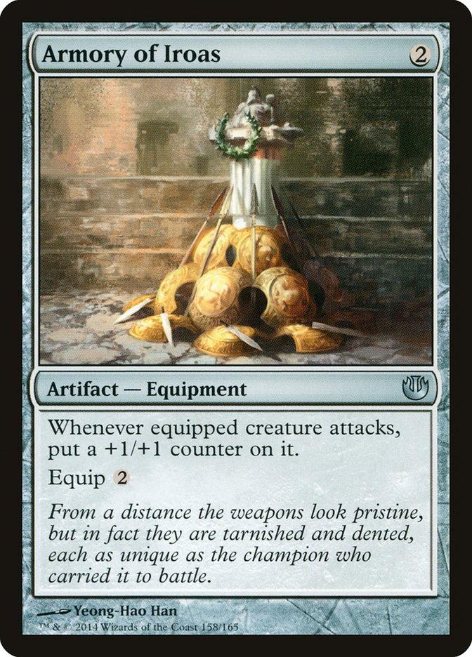 Carta Arsenal de Iroas/Armory of Iroas de Magic the Gathering